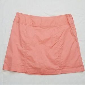 St John's Bay Peach Cotton Athletic Skort, 14